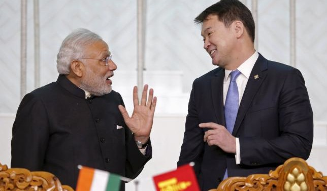Indian Prime Minister Offers Mongolia A $1 Billion Credit Line
