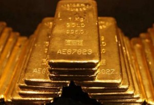 gold price dropped