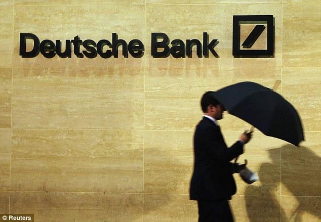 Deutsche Bank stock keeps dropping
