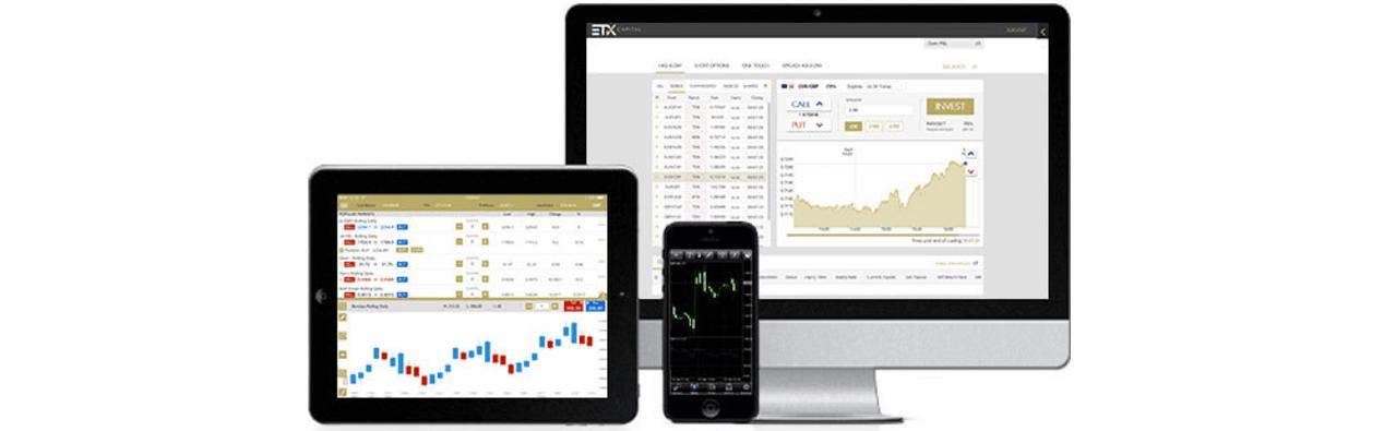 ETX trading platforms